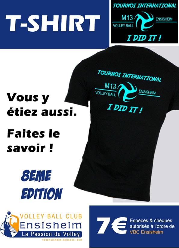 Vente T-shirt | VBC ENSISHEIM - Club de volleyball