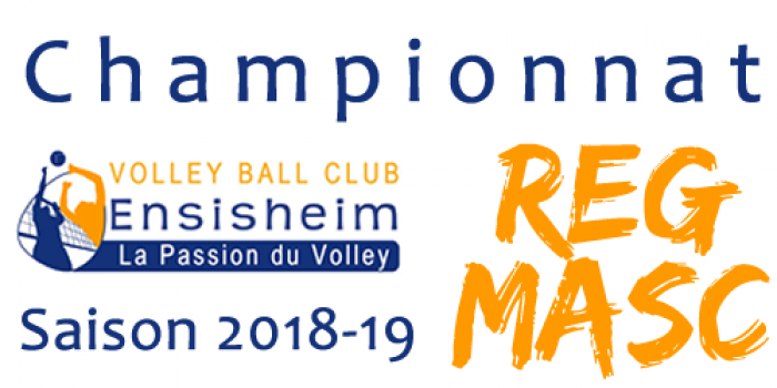 Equipe Masculins 1 - Volley Ball Club ENSISHEIM
