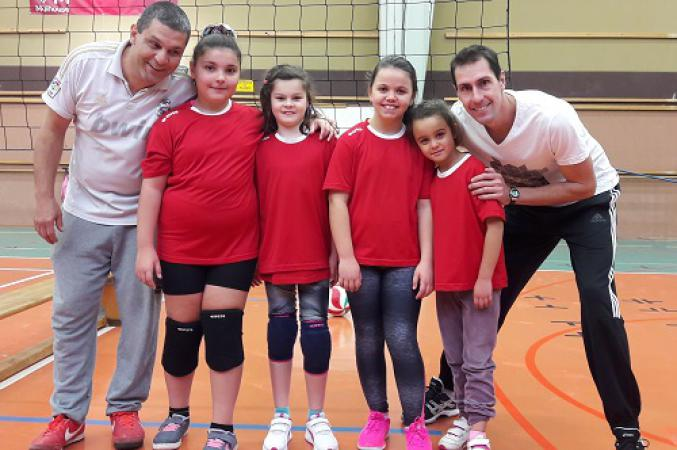 M11 Filles 4 - Volley Ball Club ENSISHEIM