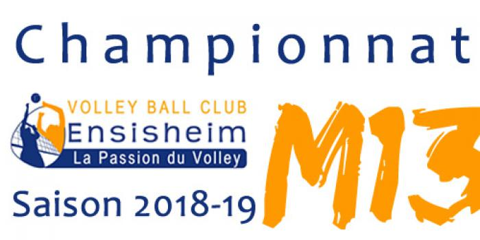M13 Filles 1 - Volley Ball Club ENSISHEIM