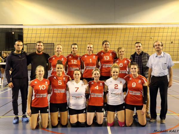 Equipe Féminine 1 - Volley Ball Club ENSISHEIM
